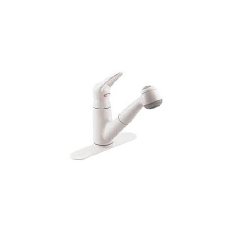 moen salora kitchen faucet 7570v 7570v salora single handle ivory kitchen faucet