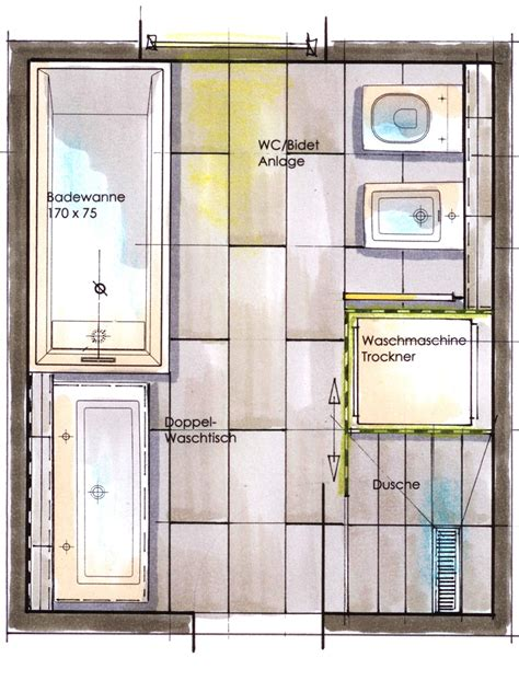 grundriss bad badezimmer grundriss quadratisch goetics