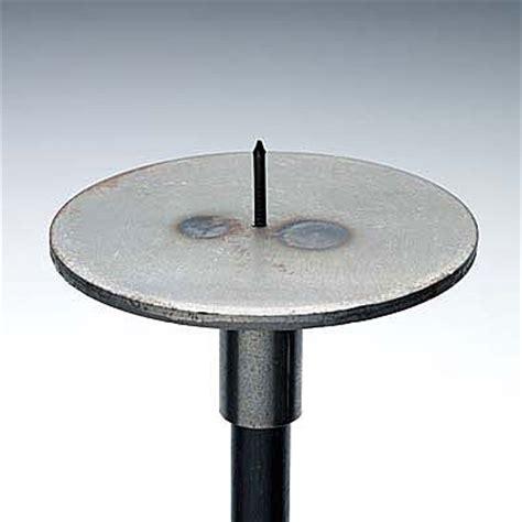 kerzenhalter mit dorn rondell 130mm mit dorn f 220 r kerze preis pro st 252 ck rondelle130