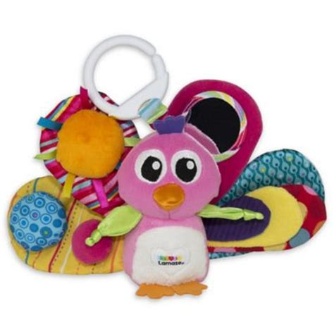 Lamaze Pink The Peacock lamaze from buy buy baby