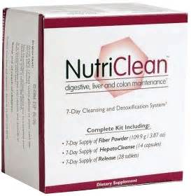 Nutriclean Detox by Nutriclean 174 7 Day Cleansing System Detox Kit