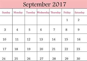 Calendar September 2017 Printable Pdf September 2017 Calendar Canada Calendar Template Letter