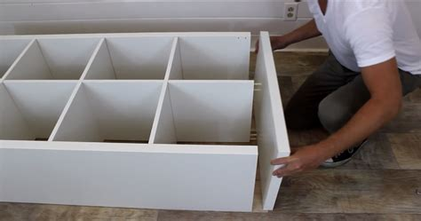 ikea hack turn a shelving unit into a window seat brilliant ikea hack build a kitchen island with storage