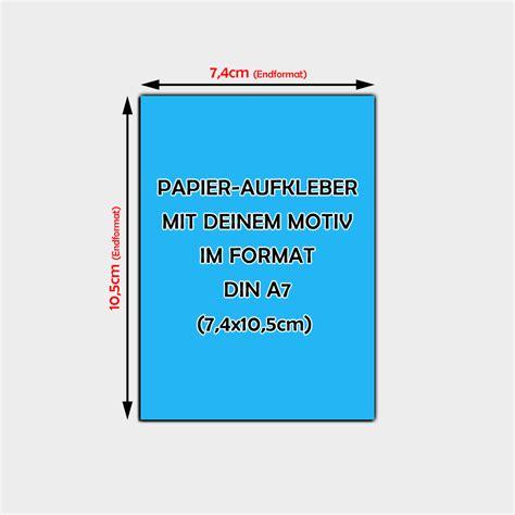 Aufkleber Papier by Papier Aufkleber Din A7 Bestellen 7 4 X 10 5cm