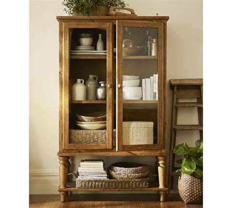 pottery barn china cabinet sumner glass cabinet pottery barn products i love