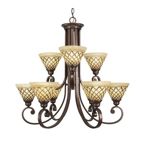 9 light chandelier bronze talista 9 light rustic bronze chandelier with