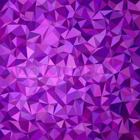 lavender background design purple irregular triangle mosaic vector background design