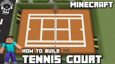 how much to build a tennis court in backyard minecraft how to make a tennis court xbox one youtube