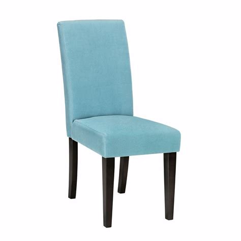 home decorators chairs home decorators collection parsons side chair in aqua