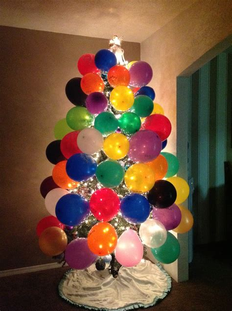 christmas birthday tree this is a great idea if someone