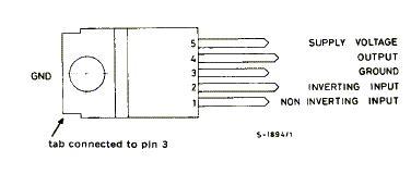 Ic Tda 2003 Ic St Audio Lifier tda2003 technical data