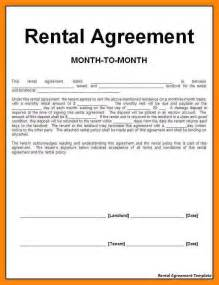 10 month to month rental agreement nurse resumed
