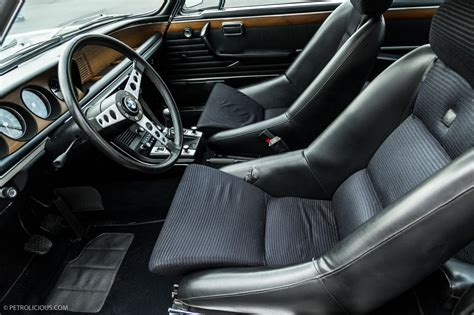 Bmw 3 0 Cs Interior by Bmw E9 3 0csl Is Legend Written In Code Bmw E9 Bmw And Car Interiors