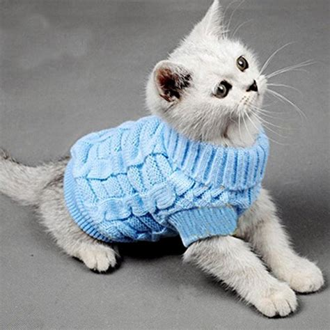 Turtleneck Cat Sweater sweaters for cats