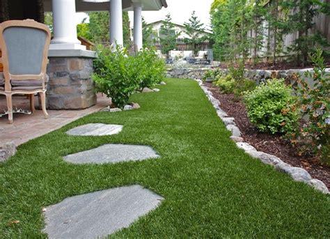 easy maintenance backyard artificial grass low maintenance landscaping 17 great