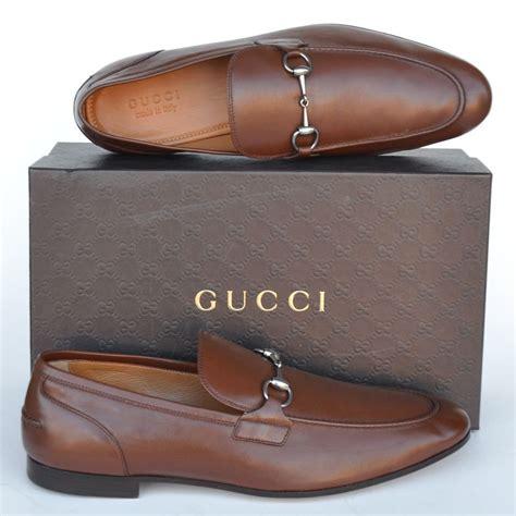 gucci new sz uk 9 5 us 10 5 horsebit mens leather dress