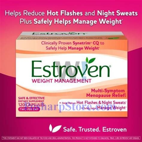 weight management estroven reviews estroven weight management 120 capsules