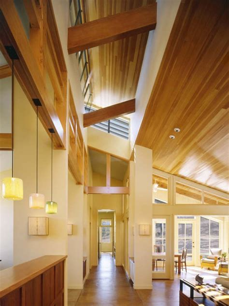 wood plank ceiling ideas pictures remodel  decor