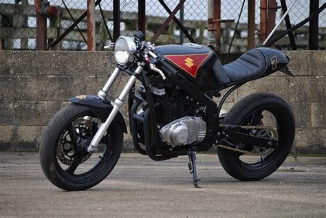 Suzuki Gs500s Suzuki Gs500 Cafe Racer By So Low Choppers Bikebound