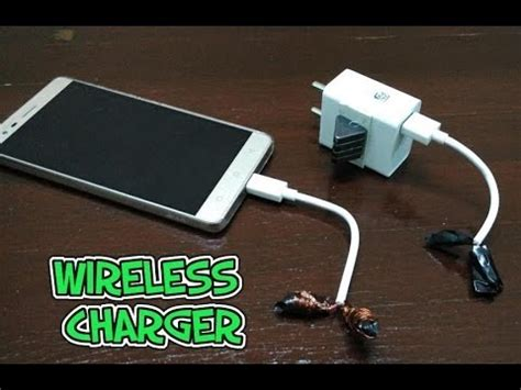 how to make a wireless charger how to make wireless charger for your smart phone easily