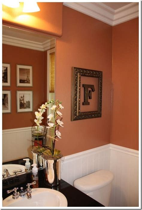 25 best ideas about orange bathrooms on orange bathroom paint orange bathroom