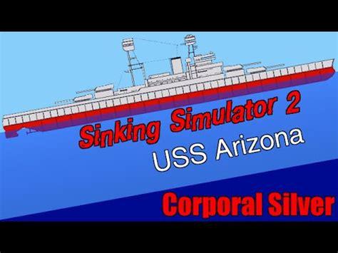 when did the uss maine sink uss arizona battleship sinking simulator 2 8