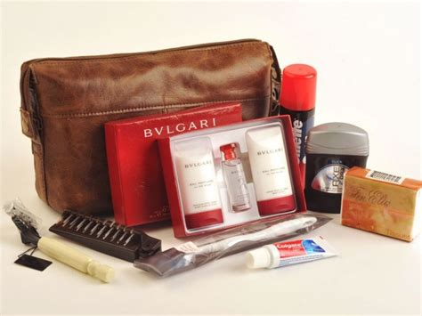 Tas Travel Kit Kosmetik Bvlgari From Emirates Bussiness Class class travel what s inside airline amenity kits emirates airline flights and barbados