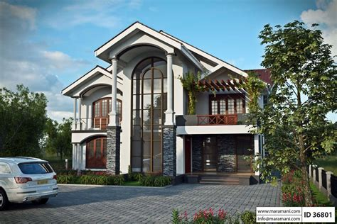 6 bedroom house designs six bedroom house plan id 36801 house designs by maramani