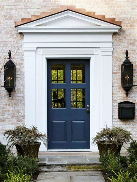 dramatic  impression  painted front doors