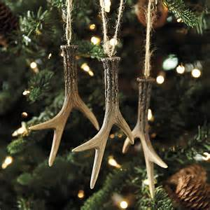 holiday decorating with antlers