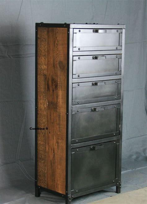 vintage industrial lingerie chest dresser drawers