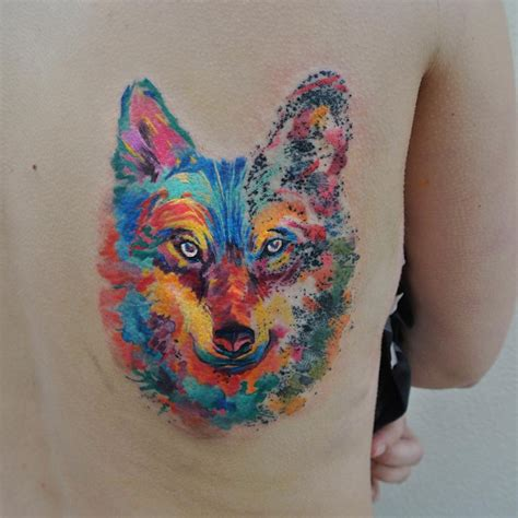 rainbow watercolor tattoo one day one artist makes sure each