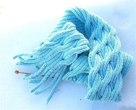 what is w t in knitting knit and crochet knitting blue scarf pattern