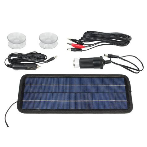 12 volt solar boat battery charger 12 volt 4 5w portable car boat power solar panel battery