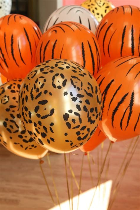 wild ideas   safari themed party brit