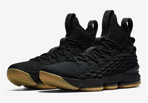 Nike Lebron 15 nike lebron 15 black gum official release info photos sneakernews
