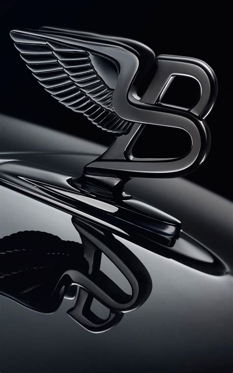 bentley logo wallpaper bentley shinning black logo free hd mobile