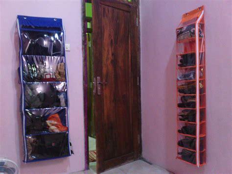 Rak Sepatu Gantung Cirebon pelapak rak helmtas sepatu jilbab gantung