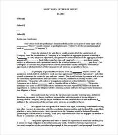 Letter Of Intent To Purchase Equipment Template 11 Purchase Letter Of Intent Templates Free Sle