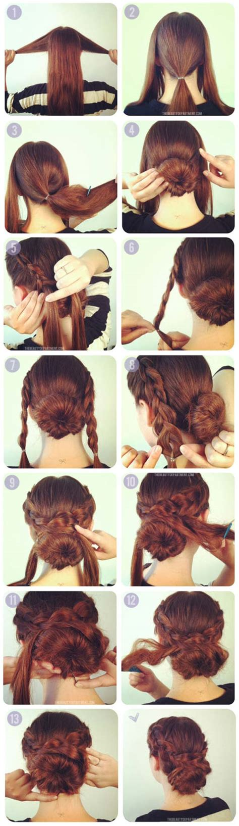 how to put the world s greatest hair buns with braids 36 best hairstyles for long hair