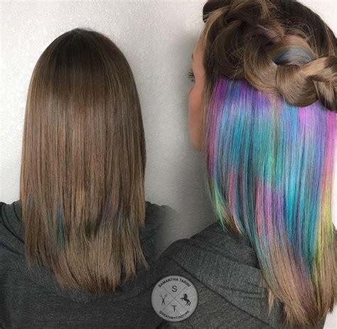 peekaboo color 25 best ideas about peekaboo hair colors on