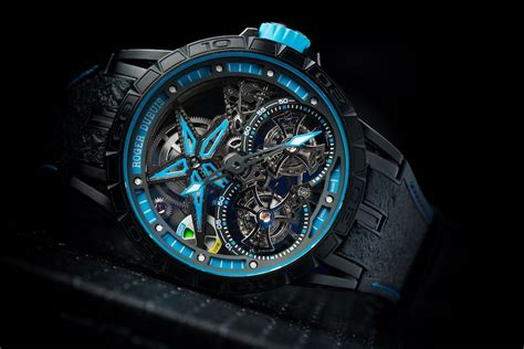 Roger Dubuis Silver Leather Matic For roger dubuis