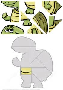 printable turtle puzzle jigsaw puzzle with cute cartoon turtle free printable