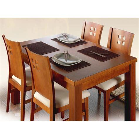 bases de madera para mesas de comedor mesa de comedor r 250 stica y extensible en madera para