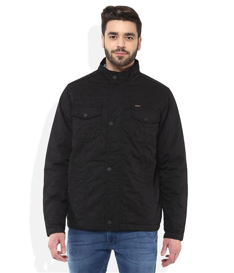 Avenue Black park avenue black casual winter jacket buy park avenue