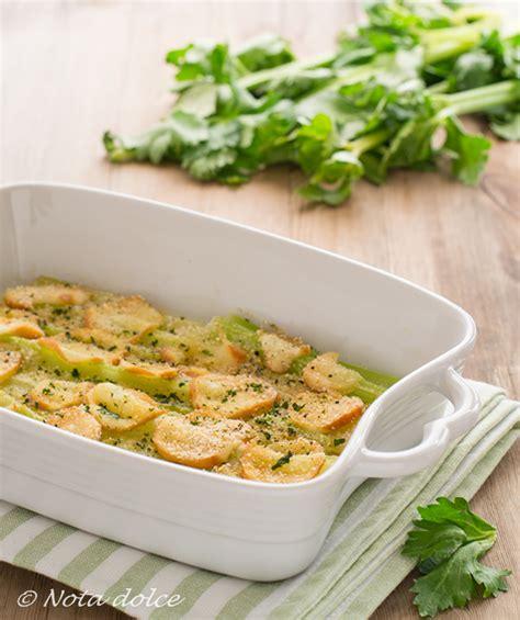 sedano al forno sedano al forno con scamorza ricetta facile e gustosa