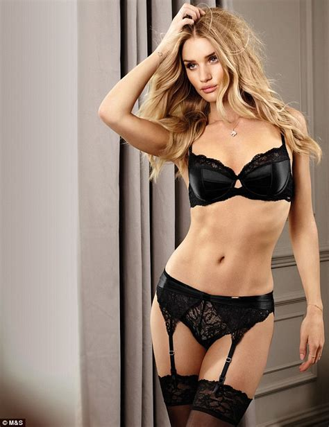 Rosie A New by Rosie Huntington Whiteley Shows Stunning Figure In
