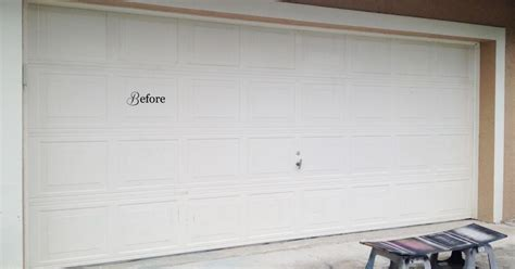 faux carriage garage door curb appeal for just a few bucks hometalk