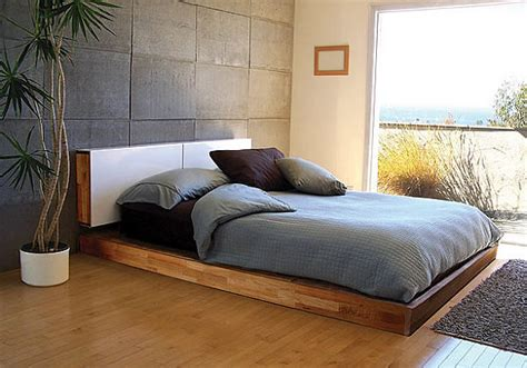 minimalist platform bed easy to build diy platform bed designs