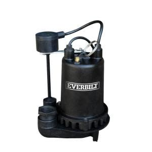 everbilt 1 hp professional sump pssp10001vd the
